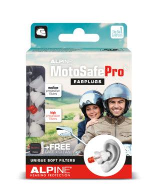 Беруши для мотоспорта ALPINE MOTOSAFE PRO