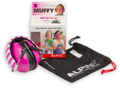 Детские наушники от шума ALPINE MUFFY (розовые)