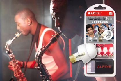 Беруши для музыкантов ALPINE MUSICSAFE PRO (белые)