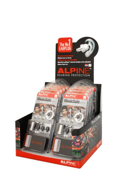 Беруши для музыкантов ALPINE MUSICSAFE PRO (черные)